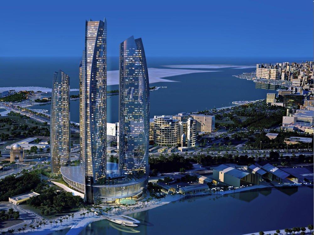 Penisola arabica abu dhabi citt hotel jumeirah at etihad towers aliviaggi - Abu dhabi luoghi di interesse ...