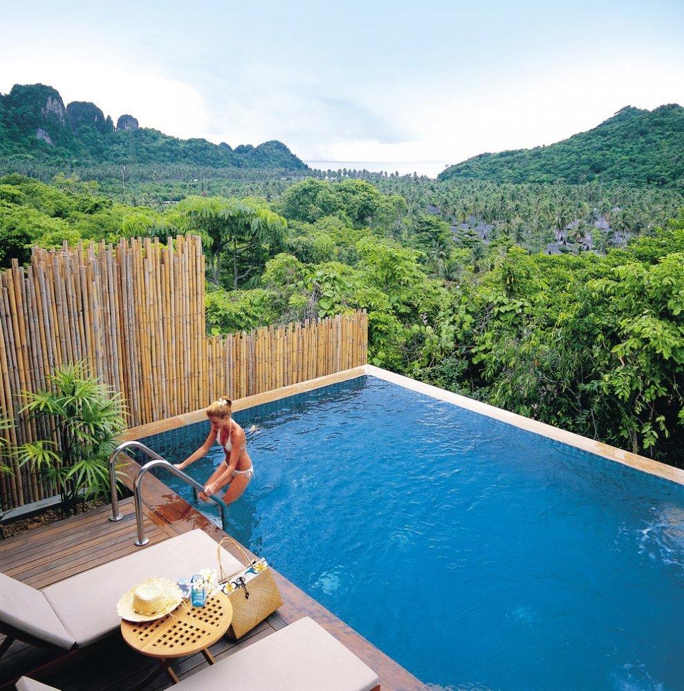 Phi Phi Beach: Hotel PEE PEE ISLAND